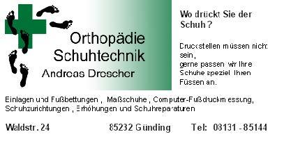 OrthopädieSchuhtechnikDrescher